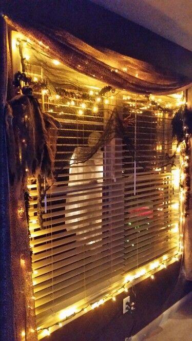 My halloween window