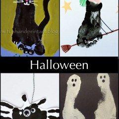 Halloweenská zábava pro malé děti
