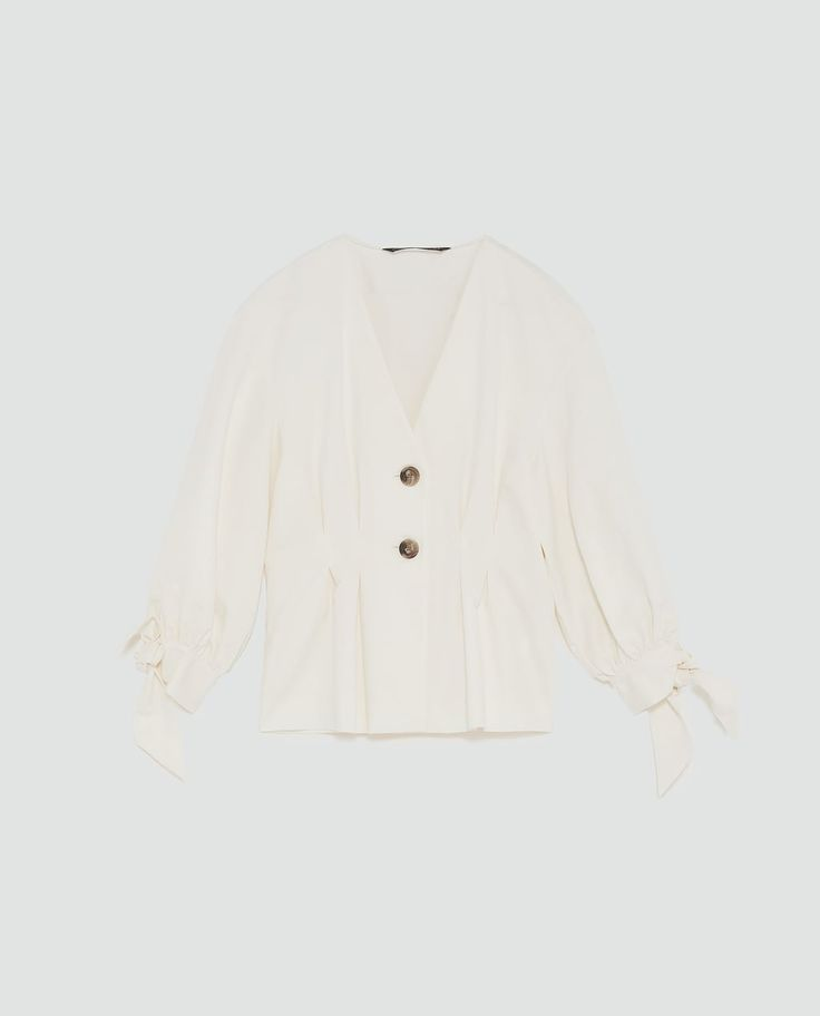Image 8 of PLEATED TOP from Zara