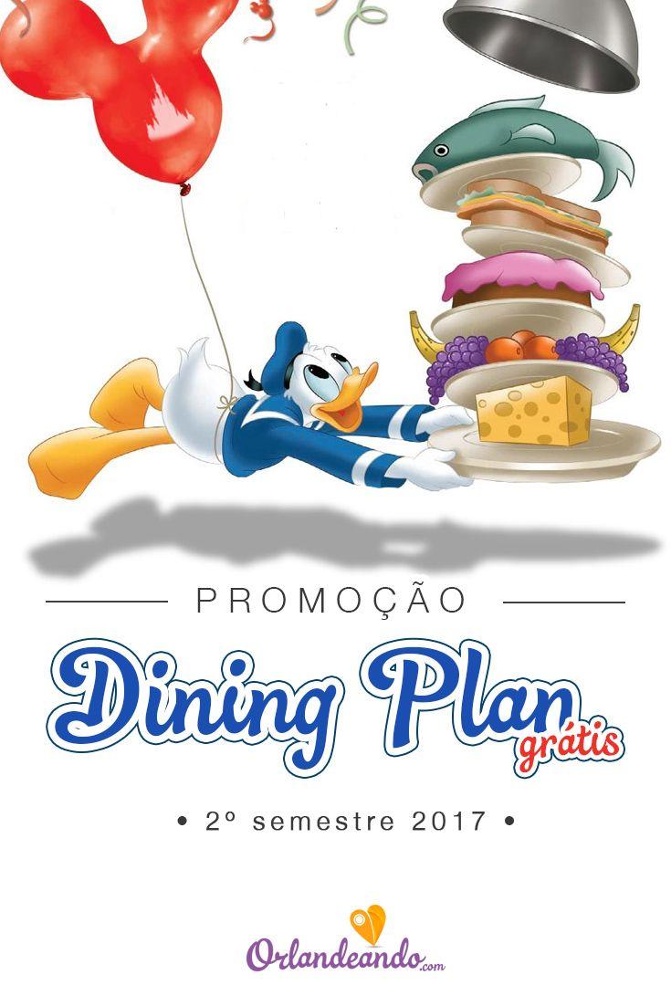 Hotéis Disney com Dining Plan grátis para 2º semestre de 2017. Reservas entre 24 de abril e 7 de julho. Todos os detalhes no blog: http://orlandeando.com/dining-plan-gratis-2017/