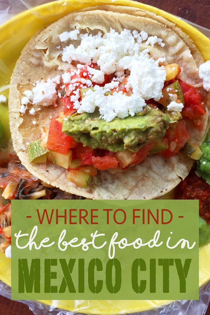 Best Food in Mexico City #mexicocity #mexico #food