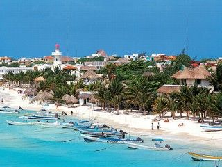 Travel Merida: Merida Mexico and Yucatan Vacation and Information Guide. Beaches