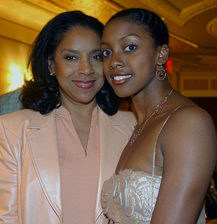 Beauties Phyllisia Rashad w/ daughter Condola Rashād