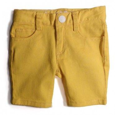 RYB Neon Lights Yellow Shorts $44