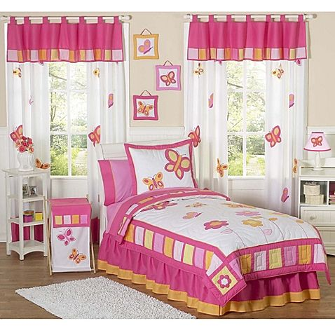 Sweet Jojo Designs Butterfly Bedding Collection