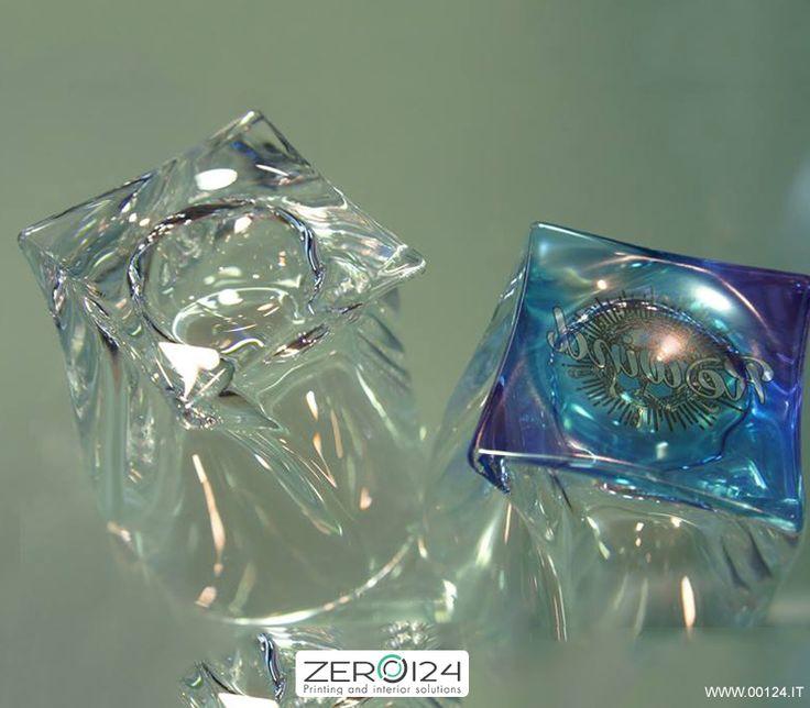 Bicchieri in vetro personalizzati a NanoColoranti.