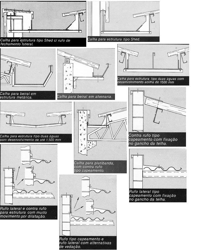 Estruturas Metálicas - Calhas - Coberturas - Rufos - JODI