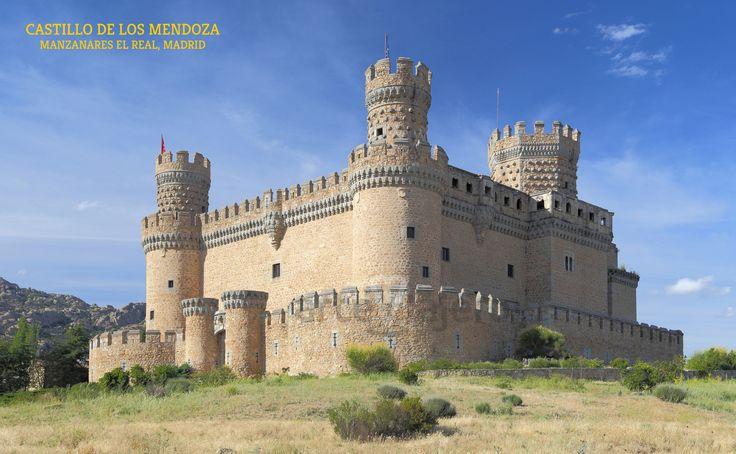 Castillo de los Mendoza, Manzanares El Real, Madrid http://arteviajero.com/