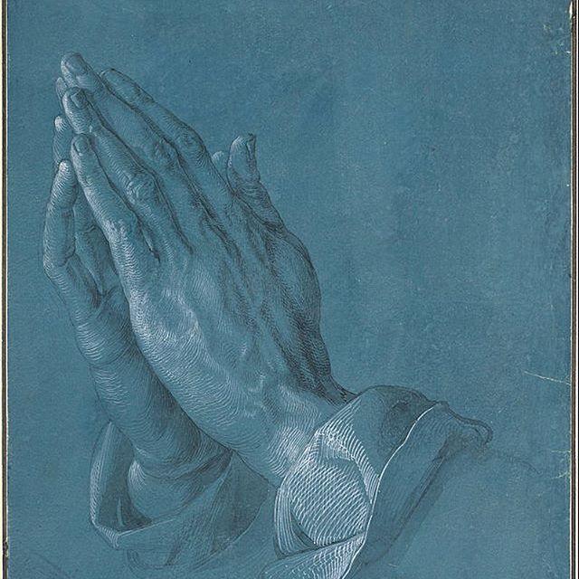"""Albrecht Dürer """"Praying Hands"""""""