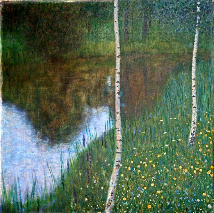 Gustav Klimt's Landscape Paintings Are Marvelous