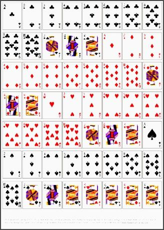 Best 25+ Blank playing cards ideas on Pinterest Kindness elves - sample holdem odds chart template