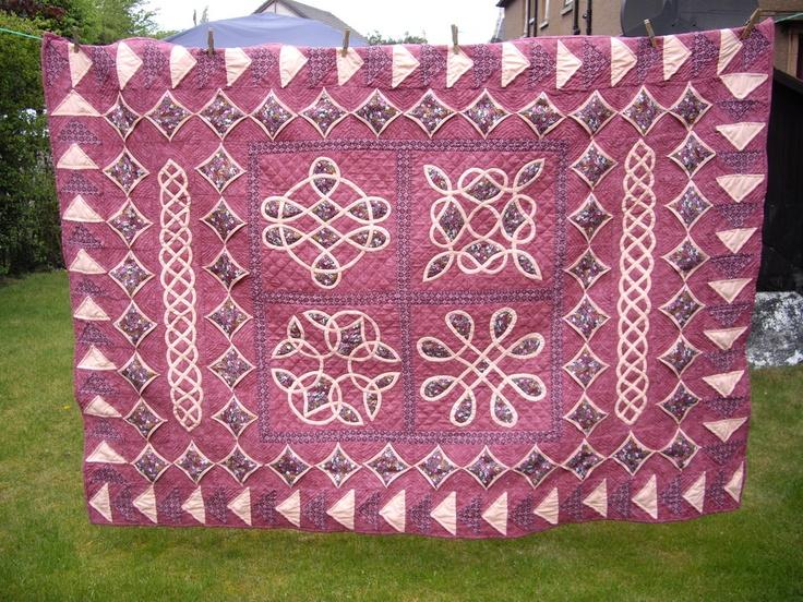 184 Best Celtic Scottish Quilts Images On Pinterest