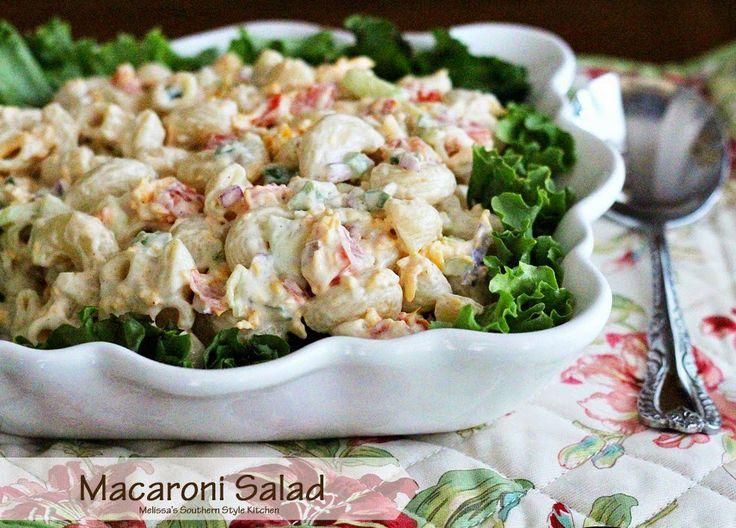 Melissa's Southern Style Kitchen: Homestyle Macaroni Salad