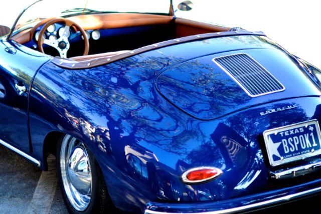 Porsche 356 Speedster in blue