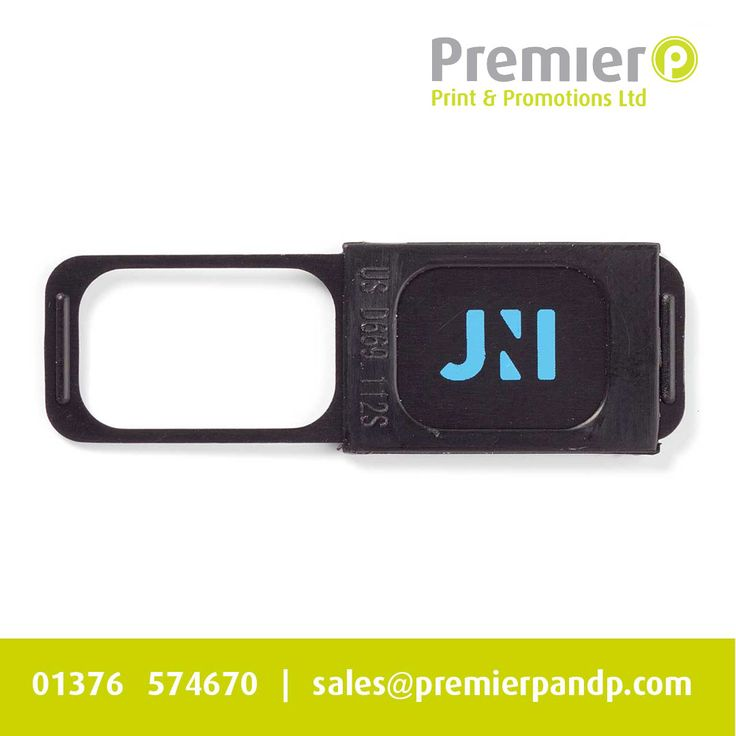 Your logo is always visible on our branded webcam cover, making it an ideal advertising space. http://catalogue.promotional-gifts.com/webcam-cover #webcam #webcamcover #cybersecurity #hacker #marketing #advertising #branding #logo #premierpandp