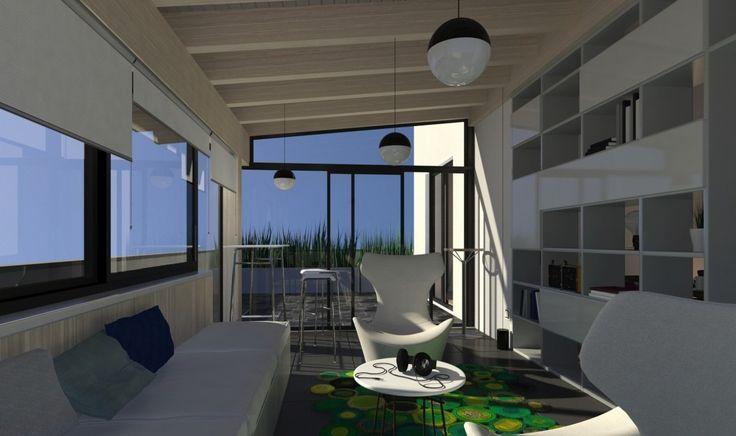 Chiudere il balcone per fare la veranda nel 2020 Veranda