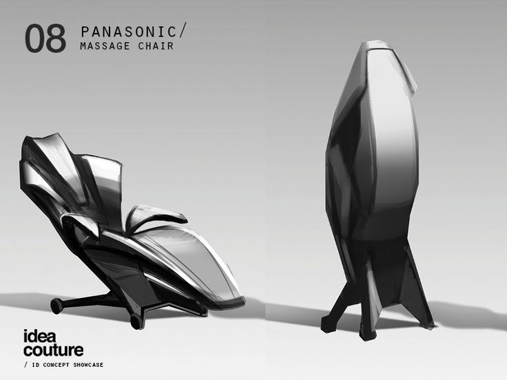 Idea Couture / Industrial Design Concept Showcase // Panasonic Massage Chair