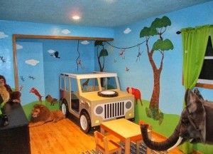 Amazing  8 Ideas to Create Your Kids Bedroom into a Jungle Safari Journey