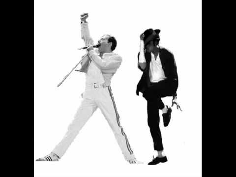 "Freddie Mercury feat. Michael Jackson - ""There Must Be More To Life Than This"". Two of the greats."