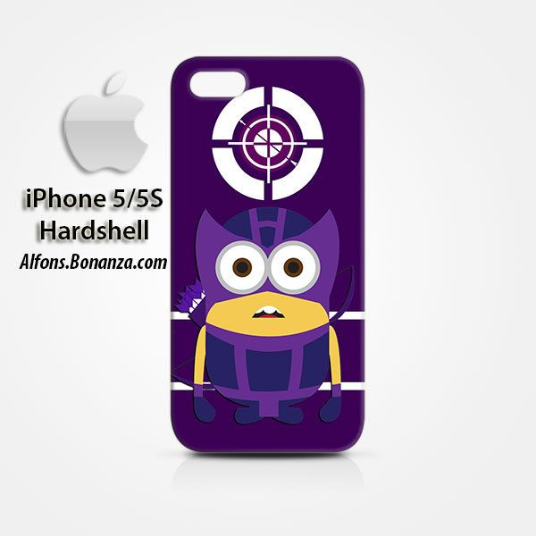 Hawkeye Minion iPhone 5 5s Hardshell Case