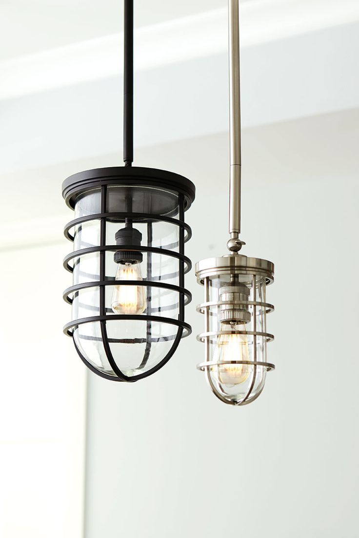 Pretty nautical pendant lights