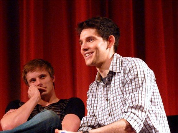 The way Bradley is looking at Colin here.. My heart. Idk why but it's just so like.. Adoring. God I love their friendship.