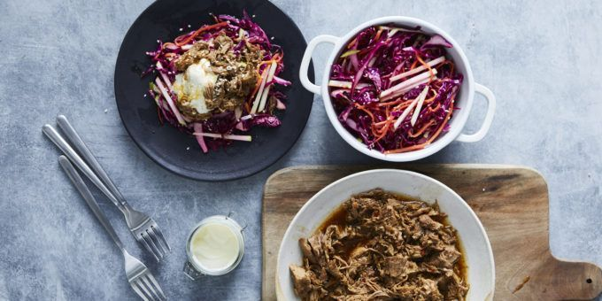 I Quit Sugar - Slow-Cooked Korean Pulled Pork