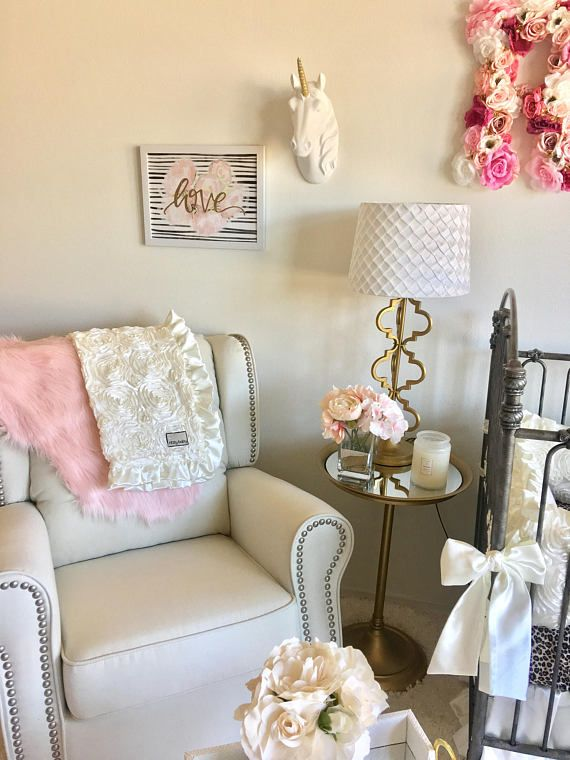 Luxury Baby Girl Crib Sets, Ivory Cribs Sets, Cream Baby Bedding, Cream Roses and Leopard, Ivory Roses Baby Nursery, Ivory and Leopard Our bumpers have removable inserts with zippers for easy cleaning. 3 Pc Crib Set This listing includes the following made like the pictures above: