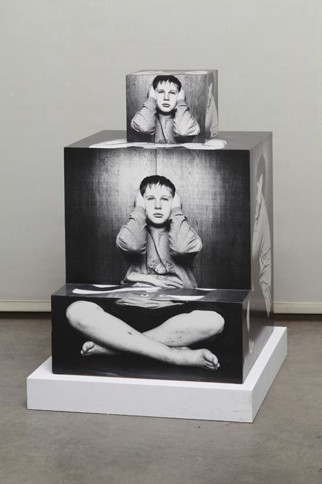 Darren Bader  (via Andrew Kreps Gallery, NYC)- Altered Surface Photography