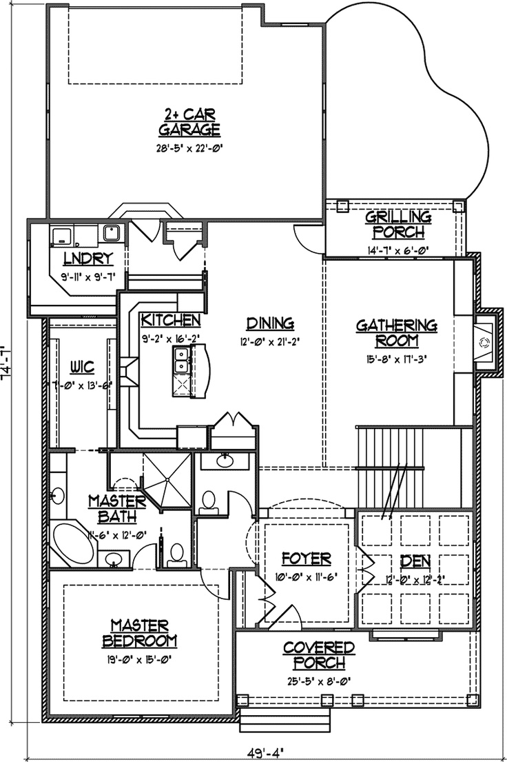 1000+ images about house plans on pinterest | craftsman, open