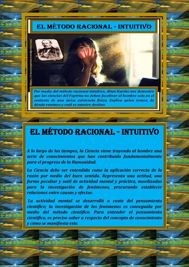 El metodo racional intiutivo allan kardec