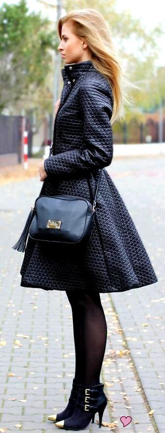 Sex and the City:  That coat - street style fall