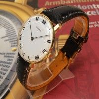 Edle und extraflache Seltenheit! Mechanische Ankra71 Herren Armbanduhr zum Superpreis!