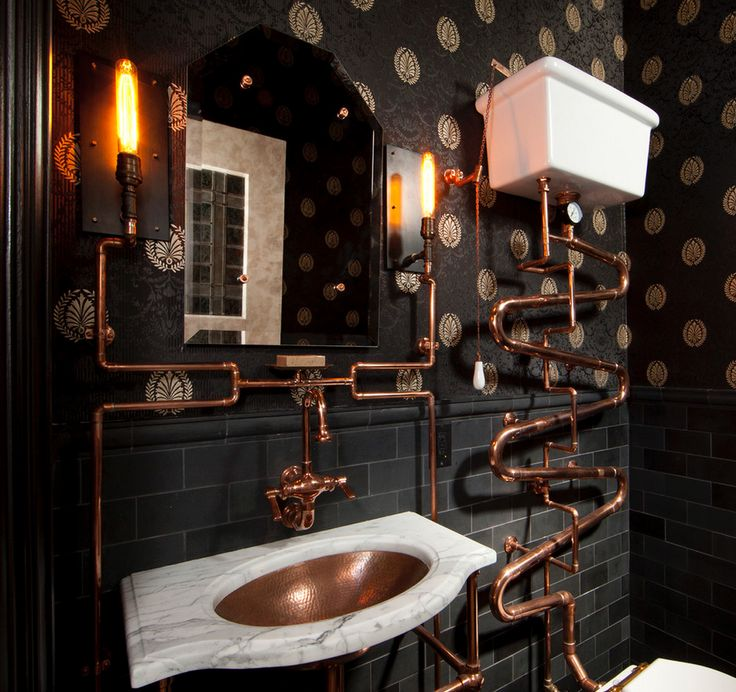 51 best My copper bathroom images on Pinterest Bathroom Trends
