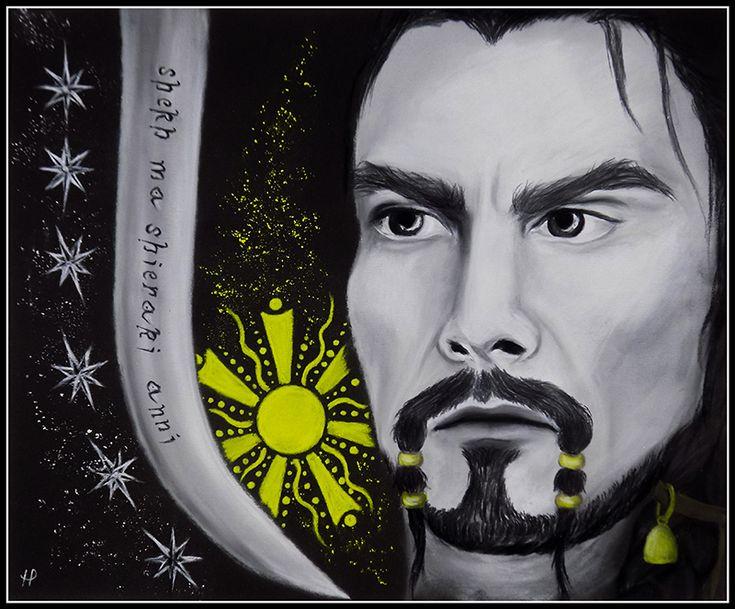 khal Drogo (art by Anastasia Robozeeva)