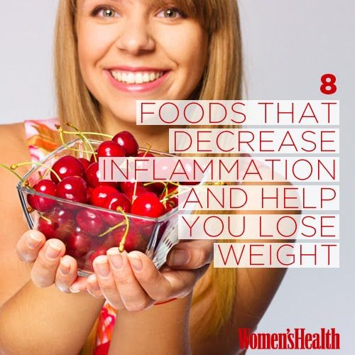 8 Foods That Decrease Inflammation and Help You Lose Weight | Women's Health Magazine