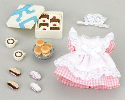 Amazon | シルバニアファミリー ケーキ屋さんのウェイトレスセット ミー51 | エポック社 通販