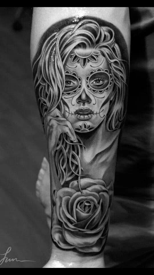 Great guy tattoo. My friend got it on him