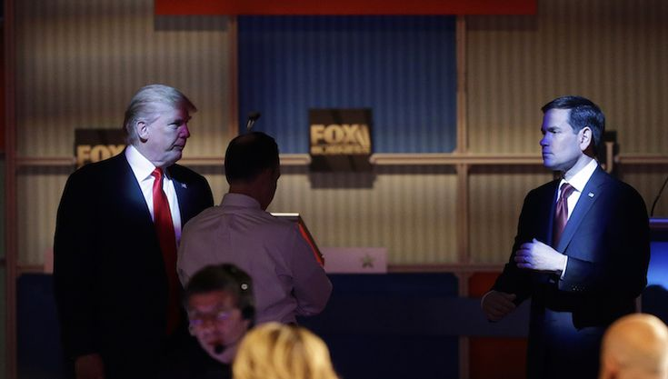 Here Are All the Savage Burns From Donald Trump and Chris Christie's Roast of Marco Rubio
