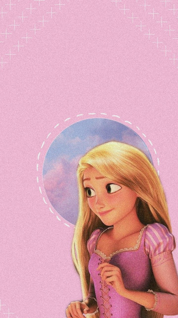 Lockscreen Disney Tangled Rapunzel Disney Characters Wallpaper Cute Cartoon Wallpapers Wallpaper Iphone Disney Princess