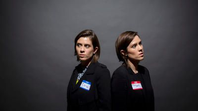 """Twin sisters Tegan and Sara Quin knew what they didn't want to write about on their new album """"Love You to Death"""": Gender identity. America's marriage-industrial complex. """"The existential crisis of getting into a relationship over and over and over again.""""  Those piles of textbook-appropriate words? For this smart, funny pop duo, they simply wouldn't do."""