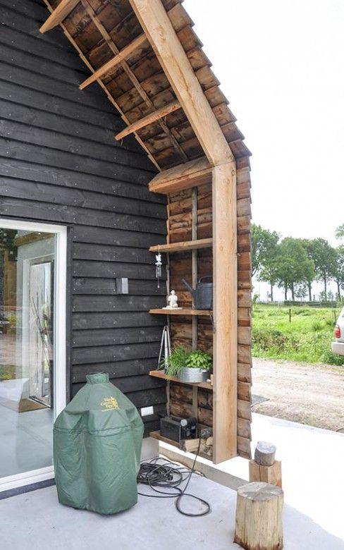 Licht en ruimte in de hoofdrol bij dit volledig houten woonhuis