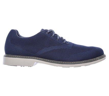 Mark Nason Skechers Men's Hardee Memory Foam Oxford Shoes (Navy) - 12.0 M