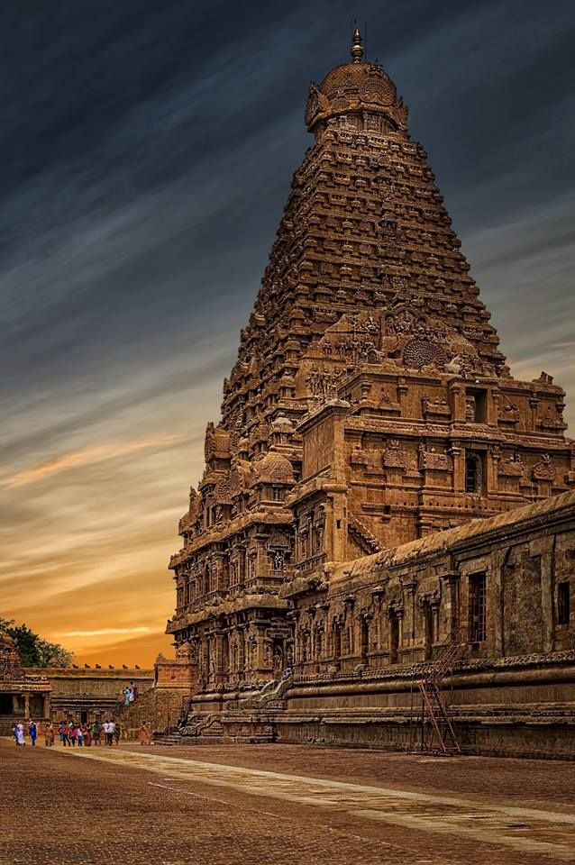 """Brihadeeswarar Temple, is a #Hindu #temple dedicated to #Shiva located in Thanjavur, Tamil Nadu, India. It is one of the largest South Indian temple and an exemplary example of a fully realized Tamil architecture. Built by #RajaRajaChola I between 1003 and 1010 AD, the temple is a part of the #UNESCO World Heritage Site known as the """"Great Living Chola Temples"""", along with the #Chola dynasty era Gangaikonda #Cholapuram temple and #Airavatesvara temple that are about 70 kilometres (43 mi) and…"""