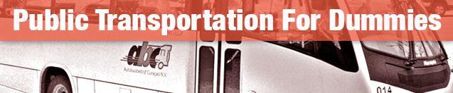 Curacao Public Transportation for Dummies