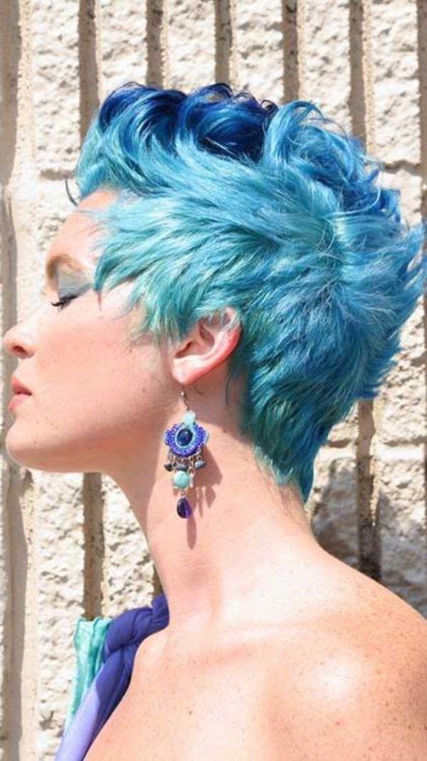 будет особенностью фото бело синих волос на коротких волосах рассказ