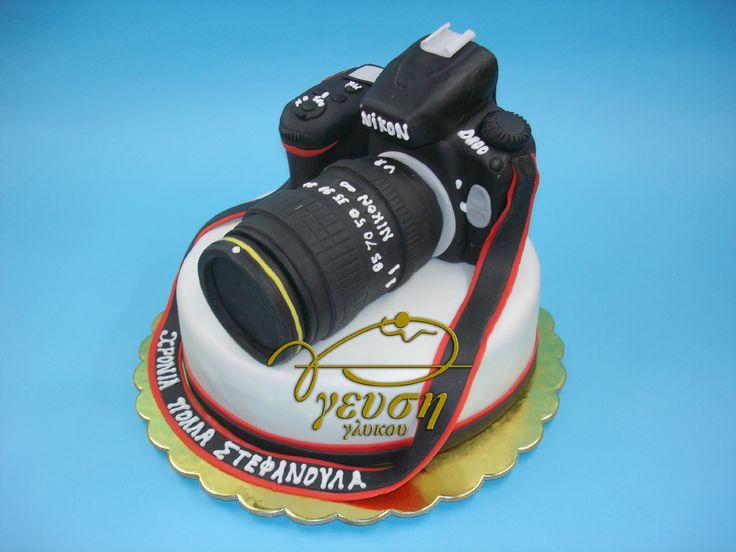 Τούρτα-φωτογραφική μηχανή-Nikon