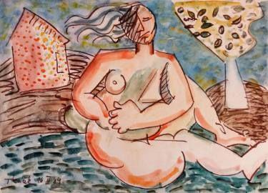 """Saatchi Art Artist Lubomir Tkacik; Painting, """"Wind in hair"""" #art"""
