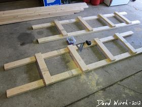 2x4 wood end pieces, how to build a wood shelf
