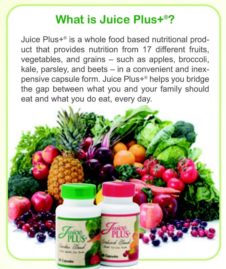 Juice Plus For More Info Please Contact Me W Questions